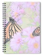 Among The Flowers  Spiral Notebook