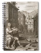 Amphion Builds The Walls Of Thebes Spiral Notebook