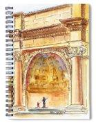 Amphitheater In Golden Gate Park San Francisco  Spiral Notebook