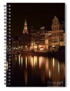 Amsterdam At Night Spiral Notebook