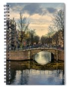 Amsterdam Bridges Spiral Notebook
