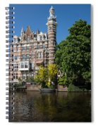 Amsterdam Canal Mansions - The Dainty Tower Spiral Notebook