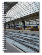 Amsterdam Central Station Spiral Notebook