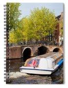 Amsterdam In Spring Spiral Notebook