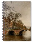 Amsterdam Panorama Spiral Notebook