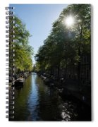 Amsterdam Spring - Green Sunny And Beautiful Spiral Notebook