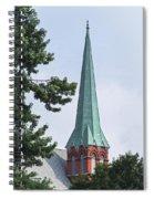 Amsterdam Steeple Spiral Notebook