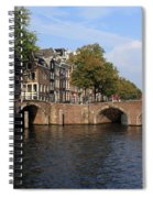 Amsterdam Stone Arch Bridge Spiral Notebook