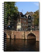 Amsterdam Stone Arch Bridges Spiral Notebook