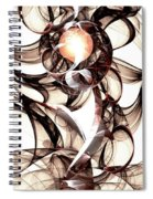 Amulet Of Chaos Spiral Notebook