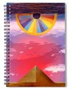 Amun Ra Spiral Notebook