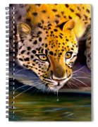 Amur Leopard  Spotted Something Spiral Notebook