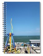 Amusement Park View Spiral Notebook