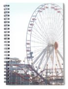 Amusement Rides At Wildwood Nj Spiral Notebook