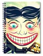 Amusement Smile Spiral Notebook