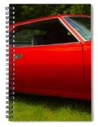 Amx Muscle Car Spiral Notebook