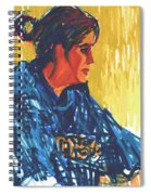 Amy At Jeff's Spiral Notebook