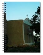 An Adobe Church In New Mexico Spiral Notebook