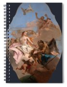 An Allegory With Venus And Time Spiral Notebook