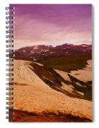 An Alpine Lake Near The Top Of Beartooth Pass  Spiral Notebook