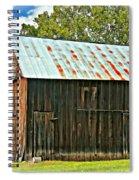 An American Barn 2 Oil Spiral Notebook