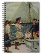 An American Privateer Taking A British Prize, Illustration From Pennsylvanias Defiance Spiral Notebook