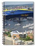 An Angel Over Baltimore Spiral Notebook