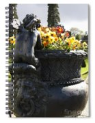 An Angels Backside Spiral Notebook