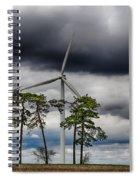 An April Sky Spiral Notebook