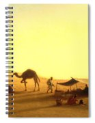 An Arab Encampment  Spiral Notebook