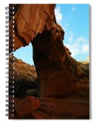 An Arch At Capital Reef Spiral Notebook