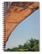 An Arch In Cozumela Spiral Notebook