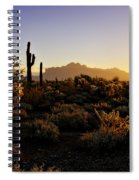 An Arizona Morning  Spiral Notebook