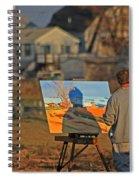 An Artist At Work Spiral Notebook