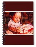 An Artist Is Born Spiral Notebook