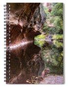 An Autumn Day In West Fork  Spiral Notebook
