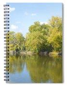 An Autumn Day Panoramic Spiral Notebook