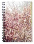 An Early Snowfall Spiral Notebook