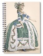 An Elaborate Royal Court Gown, Engraved Spiral Notebook