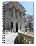 An Elegant Newport Mansion Spiral Notebook