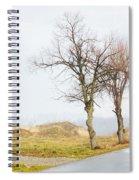 An Empty Path Spiral Notebook