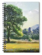 An Englishman's Castle Spiral Notebook