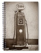 An Esso Petrol Pump From The First Half Spiral Notebook