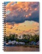 An Evening In Dc Spiral Notebook