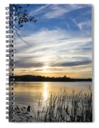 An Evening In Lakes Country Spiral Notebook