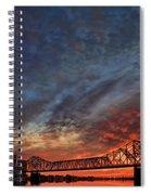 An Evening In Louisville Spiral Notebook