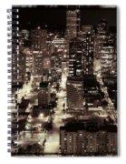 An Evening Love Affair Spiral Notebook