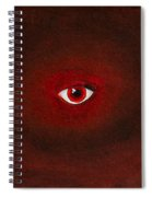 An Eye Is Upon You Spiral Notebook