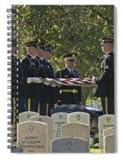 An Honored Dead Spiral Notebook