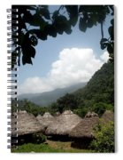 An Indigenous Village In The Jungles Spiral Notebook